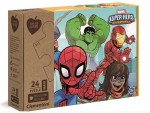 CLEMENTONI Puzzle 24 el. Maxi Play For Future Marvel Superhero 20262