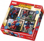 TREFL Puzzle 4w1  Spiderman 34120
