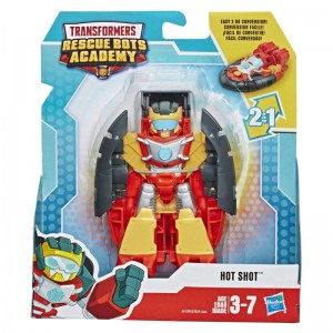 HASBRO Playskool Heroes:Transformers Rescue Bots Academy Hot Shot A7024/E4109