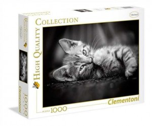 CLEMENTONI  Puzzle 1000el. Kitty 39422