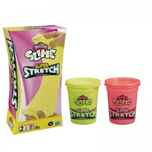 HASBRO Play-Doh Slime Super Stretch E9445/E9444