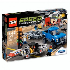 LEGO Speed Champions Ford F-150 Raport i Ford Model A Hot Rod 75875