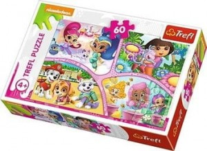 TREFL Puzzle 60el Nick Jr Multi Property 17309